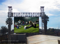 P4 Aluminum Panel 512*512mm Outdoor LED Billboard Large Display Screen
