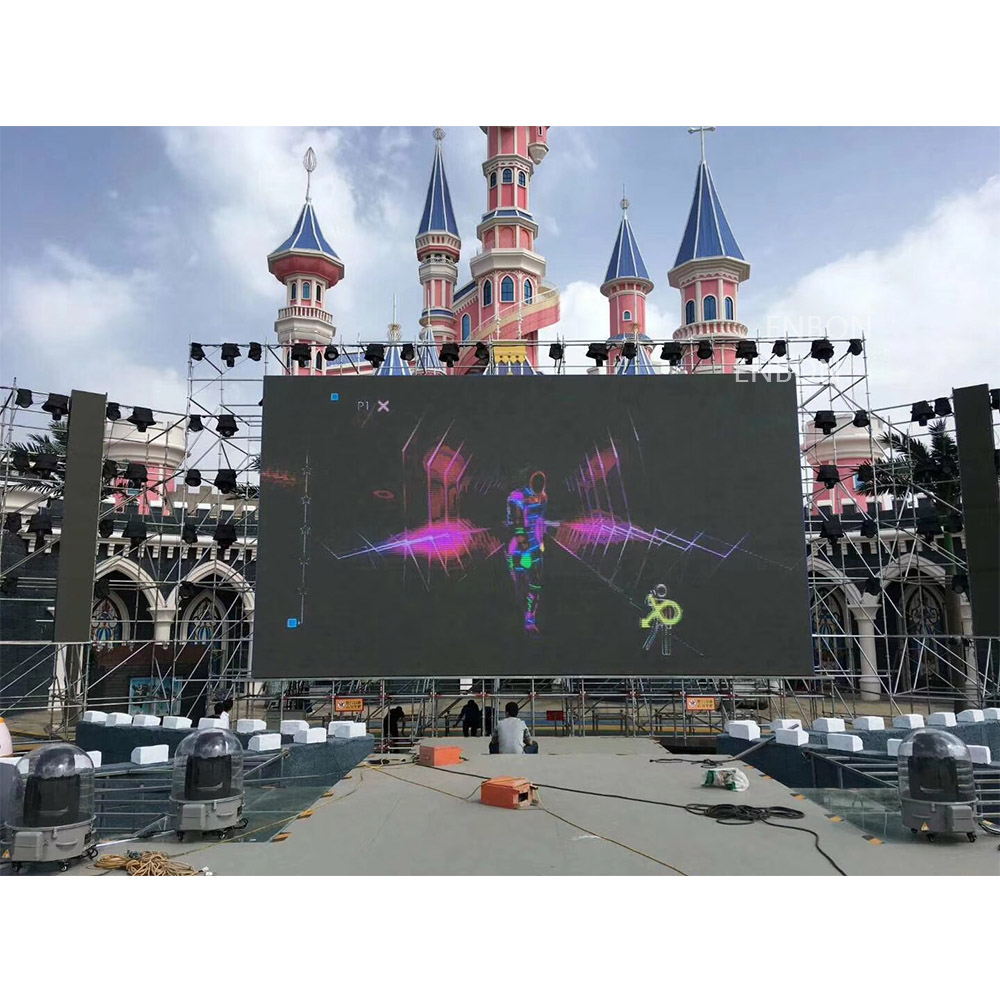 P3.91 Nationstar Led Panel 500*500mm Mobile LED Display Screen for Outdoor Indoor Events