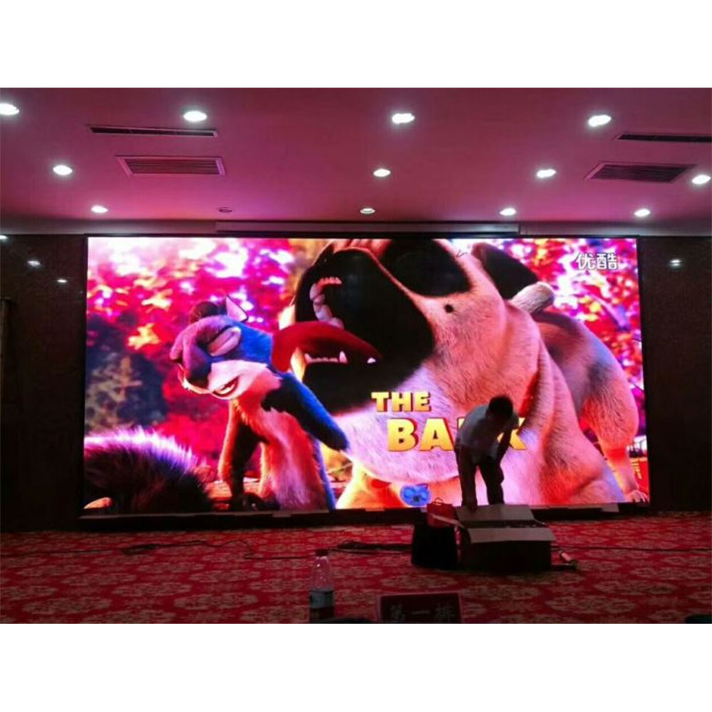 P4 Indoor HD Portable LED Display Screen Cabinet 512 *512mm with SMD2121 Back Led High Contrast Rate