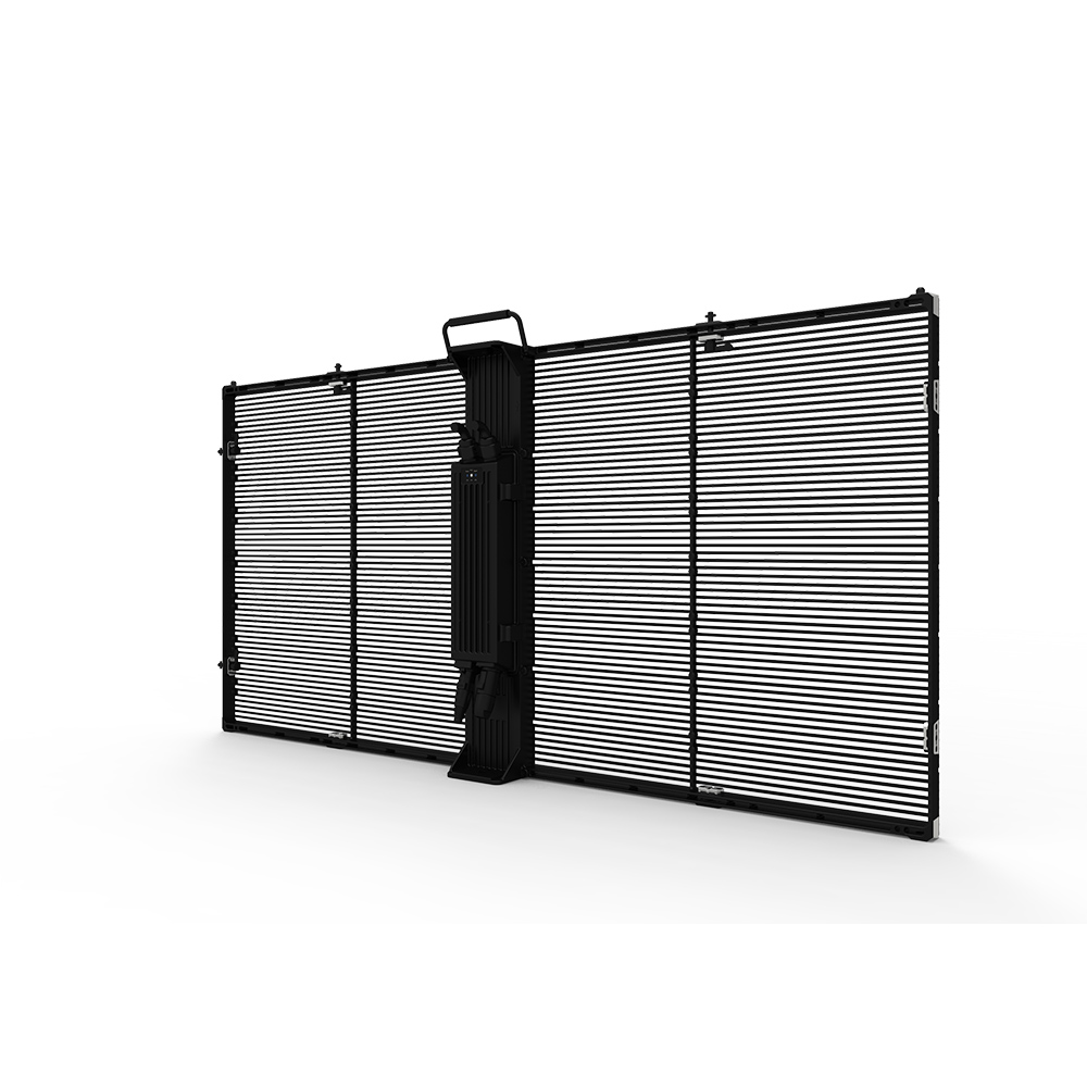 Indoor 7.8x7.8mm Strip Led Mesh Curtain for Glass Window Shop Centre Stage Display