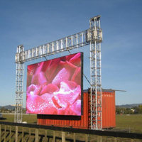 P4 768x768mm fast installation rental LED display panels for stage and events