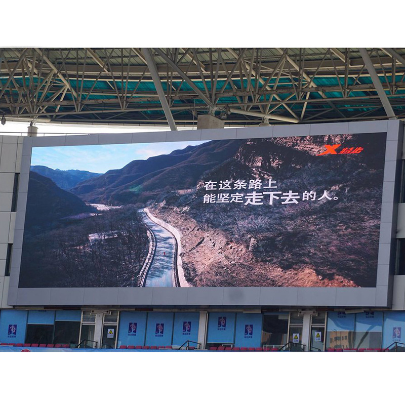 P10 Slim Die Casting 960x960mm LED Panel LED Video Display for Fixed Advertising