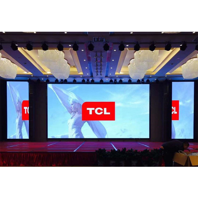 P3.91 Indoor Top Sale Portable Stage Led Video Wall for Rental Events (500*1000mm)