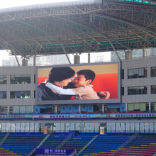 P16 1024mmx1024mm led scrolling message board led display outdoor led tv advertising screen billboard