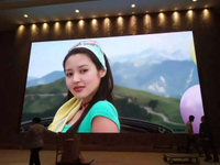 P3 Indoor 576*576mm Led Display Screen for Hotel , Stage, Conference