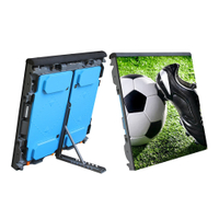 P10 960x960mm perimeter LED display screen for football stadium advertising
