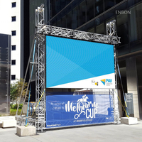 P4mm Outdoor Mobile Advertising LED Display with 512x512mm Panel