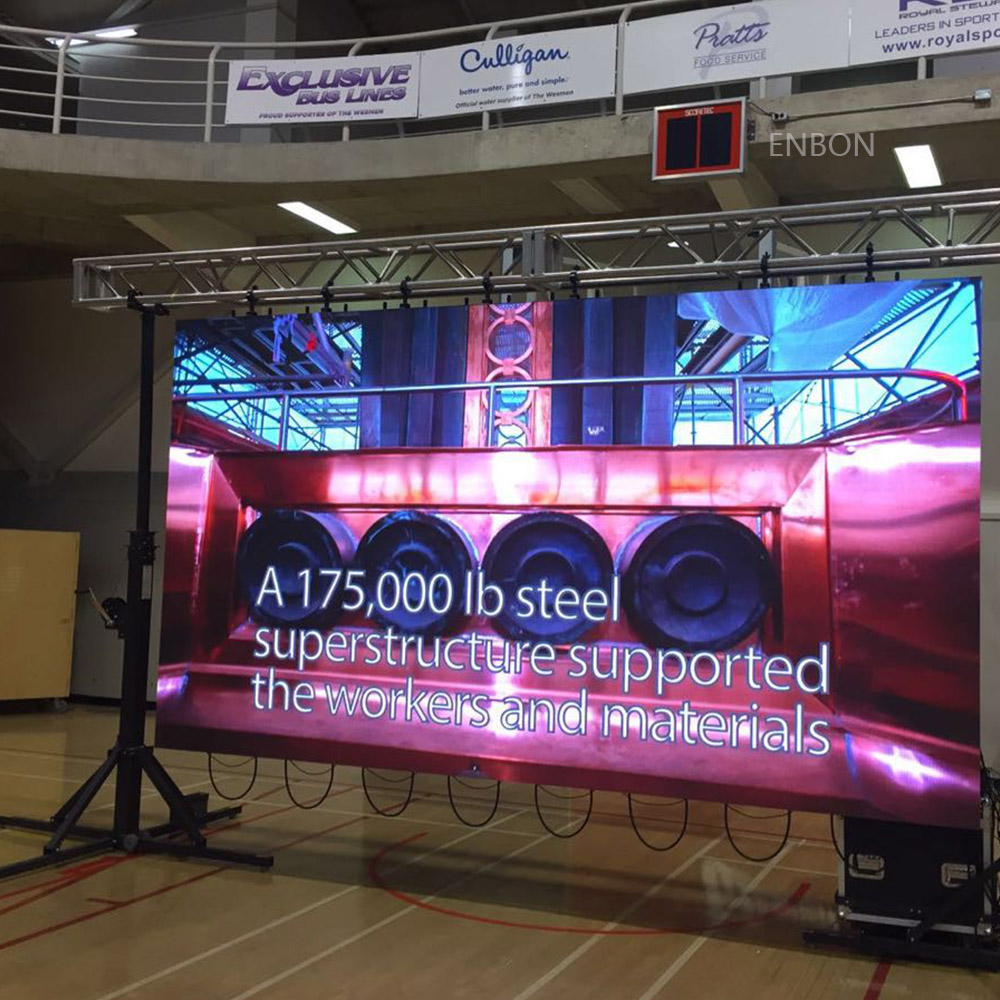 P4.8 Waterproof 576*576mm LED Screen for Rental Outdoor Indoor Events