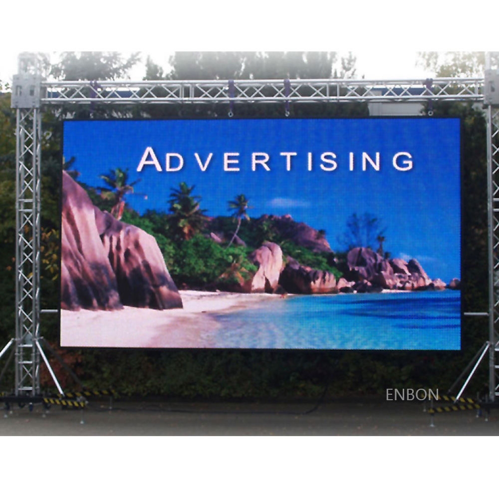 P8 Rental Outdoor Advertising LED Screen with 640x640mm Led Panel