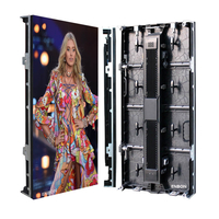 P3.91 500x1000mm Outdoor Panel LED Display Screen with Travel Case
